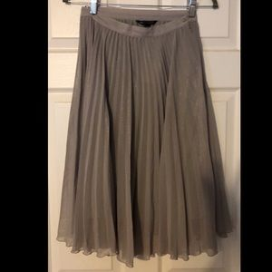 MNG pleated skirt. Size 4.